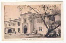 Patio De Las Palmas, Hotel Agua Caliente, Tijuana Hot Springs, Mexico, 1910s - Mexique