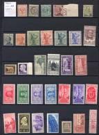 Italia Regno Piccolo Insieme  Di 32 Valori **/MNH VF/F - Verzamelingen