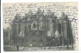 CPA Précurseur -LILLE -L' EGLISE SAINT MAURICE -ABSIDE -Nord (59) -Circulé 1904 - Lille