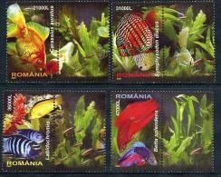 ROMANIA 2005  Tropical Fish MNH / **.  Michel 5912-15 - 1948-.... Republics