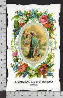 XsaCal66 S. San MARCIANO VESCOVO MARTIRE DI TORTONA O RAVENNA Santino Holy Card - Religion & Esotericism