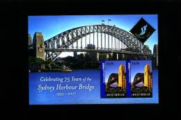 AUSTRALIA - 2007 SYDNEY HARBOUR BRIDGE MS OVERPRINTED BANGKOK 2007 MINT NH - Blocchi & Foglietti