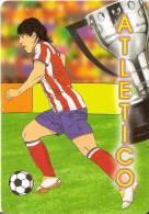 CALENDARIO DEL AÑO 2011 DEL ATLETICO DE MADRID FUTBOL (CALENDRIER-CALENDAR) - Tamaño Pequeño : 2001-...
