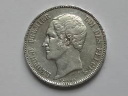 5 Francs 1850 -BELGIQUE - Leopold Premier I Roi Des Belges. - L´union Fait La Force **** EN ACHAT IMMEDIAT **** - 11. 5 Francos