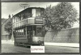 RJ207  Glasgow Corporation Tram 288 To Springburn 7/8/54 - Photographs