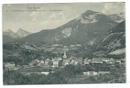 CPA -SAINT JULIEN EN BEAUCHENE -VUE GENERALE -Hautes Alpes (05) -Circulé 1927 - - Autres Communes
