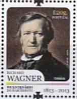 DV 2175) Portugal MiNr 3808 **: 200 Geburtstag Richard Wagner, Komponist - Music