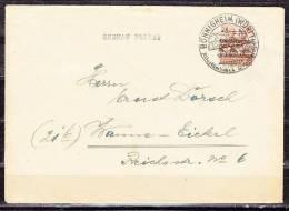 Brief, EF Bandaufdruck, SoSt Boennigheim, Nach Wanne-Eickel 1948 (39416) - Zone Anglo-Américaine