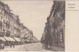 Louvain    Rue De La Station        Scan 4257 - Leuven