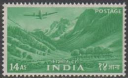 INDIA 1955 14a Kashmir Landscape MH - Nuevos