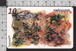 S2748 CONCOURS DES APPRENTIS Taxcard Swisscom 10 CHF 2002 - Svizzera
