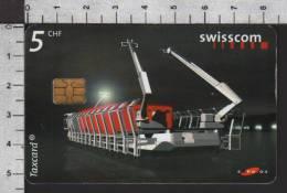 S2749 EXPO ARTEPLAGES II MOBILE DE JURA Taxcard Swisscom 5 CHF 2001 - Svizzera