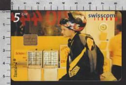 S2750 BADEN PIZZAKURIER PIZZA DELIVERY Taxcard Swisscom 5 CHF 2001 - Svizzera