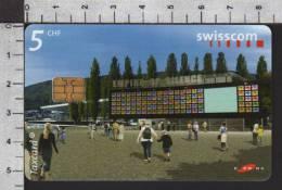 S2752 EXPO DER PAVILLON BIEL BIENNE Taxcard Swisscom 5 CHF 2002 - Svizzera