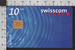 S2755 Taxcard Swisscom 10 CHF 1999 - Svizzera