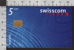 S2756 Taxcard Swisscom 5 CHF 1997 - Svizzera