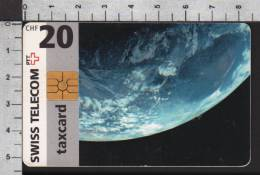 S2759 SPACE Taxcard Swisscom 20 CHF 1997 - Svizzera