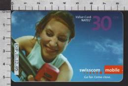 S2760 Swisscom MOBILE VALUE CAD NATEL 30 CHF Exp. 2005 - Svizzera