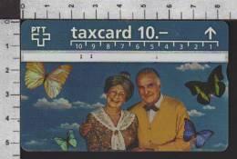 S2761 Taxcard TELECOM PTT 10 CHF - Svizzera