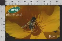 S2762 PHONE CARD ARIA PREPAID CARD BEE APE 10 CHF - Svizzera