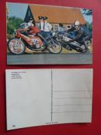 28 Moto  CHUTE Pilote   Courses Route NON Circulee  Editee 1976 Motos Course Competition - Motorfietsen