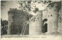 22- Dinan, Les Remparts Et Le Chateau De La Duchesse Anne  - Non Circulée - VRN - Dinan