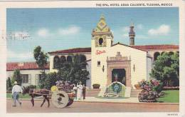 Exterior,  The Spa,  Hotel Agua Caliente,  Tijuana,  Mexico,  PU_30-40s - Mexique