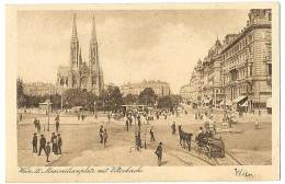 WIEN AK Um 1918 Mit DANKE F. ôsterreich-Hilfe Von Dänemark WILHEMINENSPITAL Direktion Stempel Olga Eggers - Zonder Classificatie