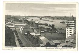 Henkel & Co Werk Gesolei Blick Rheinbrücke 1926 Gelaufen - Düsseldorf