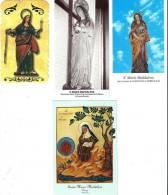 S. MARIA MADDALENA - LOTTO 4 SANTINI - M - Religione & Esoterismo