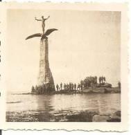 WW2 PHOTO ORIGINALE Soldats Allemands Mémorial Américain SAINT NAZAIRE LOIRE ATLANTIQUE 44 - 1939-45