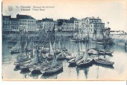 Oostende (Ostende)- Barques De Pêcheurs- Bateaux-Petits Voiliers (voilier)-Uitgeverij,t.Ve Rvaeke-Drukker-Oostende - Oostende