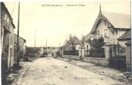 52 - Carte Postale BUSSON L'entrée Du Village RARE - Sonstige Gemeinden