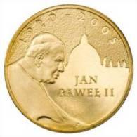 Coin Pope John Paul II: Poland 2005 2 Zlote - Jan Pawel II 1920-2005 (Circulated) (C11) - Pologne