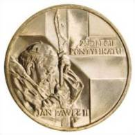 Coin Pope John Paul II: Poland 2003 Pontification 2 Zlote - Jan Pawel II - 25 Lat Pontyfikatu (Circulated) (C11) - Pologne
