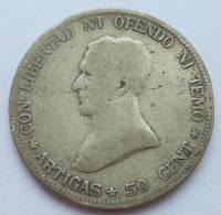 Uruguay 50 Centesimos 1916 Km 22 - Uruguay