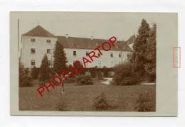 Chateau ZEIL(SEIL?)-Env. LIEGE-LAZARETT Militaire Allemand-CARTE PHOTO Allemande-GUERRE 14-18-1WK-BELGIQUE-BELGIEN- - Liege