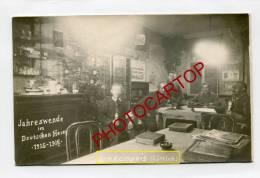 NOEL-1915-Foyer Du Soldat Allemand-KINKEMPOIS-LIEGE-LÜTTICH-CARTE PHOTO Allemande-GUERRE 14-18-1WK-BELGIQUE-BELGIEN- - Liege