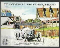"Centrafrique Bloc YT 48 BF "" Grand Prix De France "" 1981 Neuf** - Central African Republic"