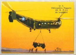 Chromos Réf. B947. L'Urbaine Capitalisation - US - Hélicoptère Piasecki (HRPI) De Transport - Cromo