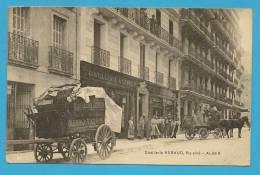 Algérie ; Alger , Distillerie Rebaud ( Animée )   .... - Berufe