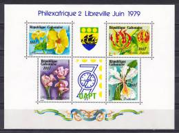 Gabon 1979 ( Flowers - Philexafrique II, Libreville ) - MNH (**) - Gabon