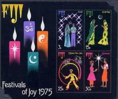 FIJI  -  FOGLIETTO  -  FESTIVAL  OF  JOY  '75 - Fiji (1970-...)