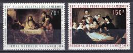 Cameroon 1970 ( 150fr, The Anatomy Lesson, By Rembrandt ) - Complete Set - MNH (**) - Rembrandt