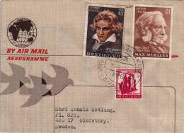 Air Mail Letter BOMBAY India To OLOFSTORP Suede About 1974 (A040) - Indien