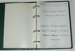 Z--004. SUISSE - RARE CATALOGUE DES OBLITERATIONS DE 1843 A 1907, LINEAIRE & SPECIALE,  TBE - Cancellations