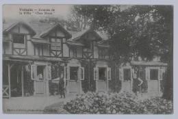 """Cpa  VIELSALM : Ecuries De La Villa """" Chez Nous """"  1913  , Edit Oct Baccus De Vielsalm - Vielsalm"""