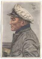 GERMANY, WW2 - Propaganda, Kapitanleutnant PRIEN, Kriegsmarine, Navy, 1940. - Deutschland