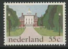 "Nederland Netherlands Pays Bas 1981 Mi 1185 ** ""Huis Ten Bosch"" Royal Palace, The Hague / Schloß / Kasteel - Paleis - Kastelen"