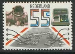 Nederland Netherlands Pays Bas 1981 Mi 1190 ** Industrial And Agricultural Exports / Gußstück, Wägegerät, Frachthafen - Transportmiddelen